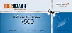 Big Bazaar Shopping Gift Voucher
