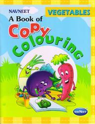 Copy Colouring Vegetables Book