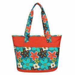 Floral Canvas Printed Tote Bag
