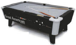 KD Black Diamond Pool Table