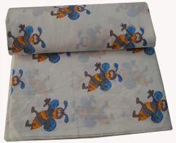 Hand Block Print Cotton Fabric Sanganeri Butterfly Printed