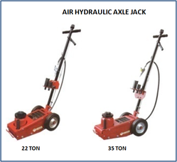 Air Hydraulic Axle Jack JM 702 02