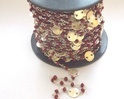 Carnelian Gold Plated Chain