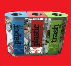 Trio Waste Bins