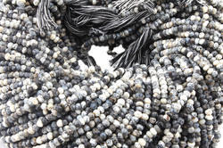 Dendrite Opal Faceted Beads