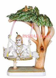 Lord Krishna Swing On Zhoola