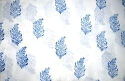 Indian Hand Block Print 100% Cotton Running Fabric Floral Print Indian Fabric