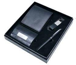 Gift Set - Wallet - Card Holder - Key Chain - Pen