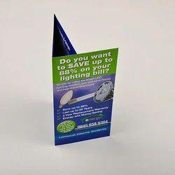 Folded Leaflet Printing Service