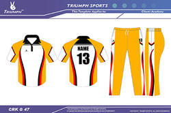 Cricket Garment