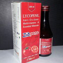Lycopene Anti-Oxidant Multivitamins Essential Mineral Syrup