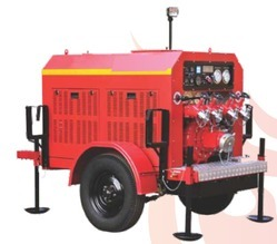 Trailer Fire Pump