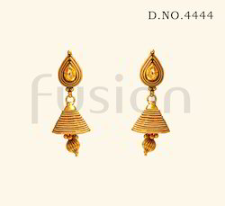 Fashion Hanging Jhumka Earrings