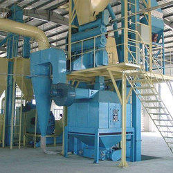 Automatic Fish Feed Plant