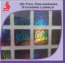 3D Hologram Labels Foils Stickers