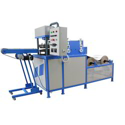 Double Cylinder Fully Automatic Paper Plate Machine