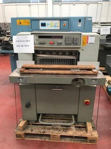 paper cutting machine polar 55 em 1988 paper cutting machine rh indiamart com