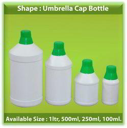 HDPE Umbrella Cap Bottle