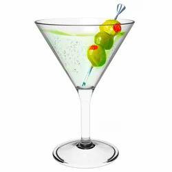 Topaz Martini Glass - Polycarbonate