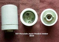 Porcelain E27 Pendent Type Lamp Holder BE06