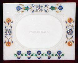 Marble Pietra Dura Picture Frame