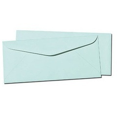Blue Paper Envelope