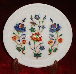 Marble Pietra Dura Plate