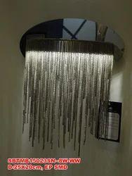 Modern Silver Chain Wall Light