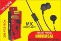 Troops Tp-7018 Universal Stereo Earphone