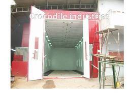 Bus Paint Booth