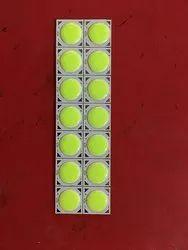 10W COB LED绿芯片