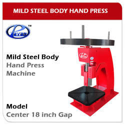 Hand Press Mild Steel Body Model Center 18 Inch Gap