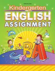 Kindergarten English Assignment Book