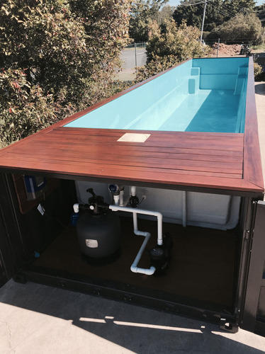 Shipping Container Pool Manufacturer From Coimbatore