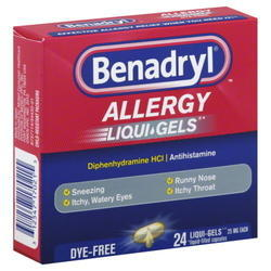 Benadryl Softgel