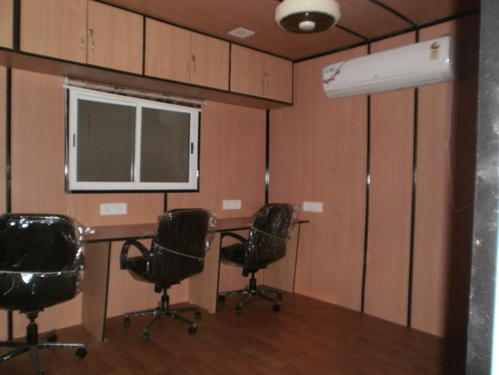 Container Office Homes Mobile Homes Manufacturer From Ahmedabad Inspiration Container Office Design
