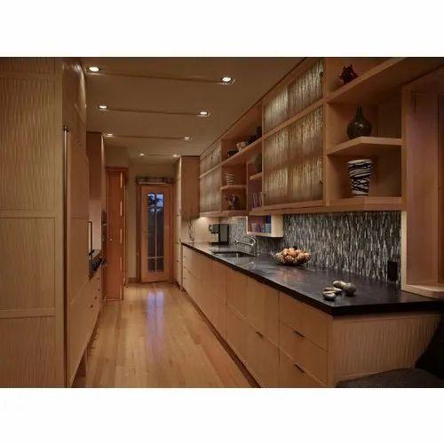 Pvc L Shape Modern Modular Kitchen Rs 850 Square Feet: Modular Straight Kitchen Manufacturer