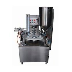 Cup Filling And Foil Sealing Machine