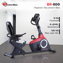 Powermax Magnetic Recumbent Bike(BR-800)