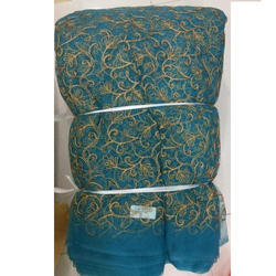 Net Embroidred Fabric