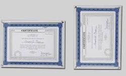 Acrylic Certificate