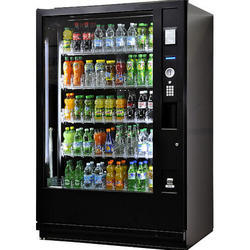 Cold Beverage Black Vending Machine
