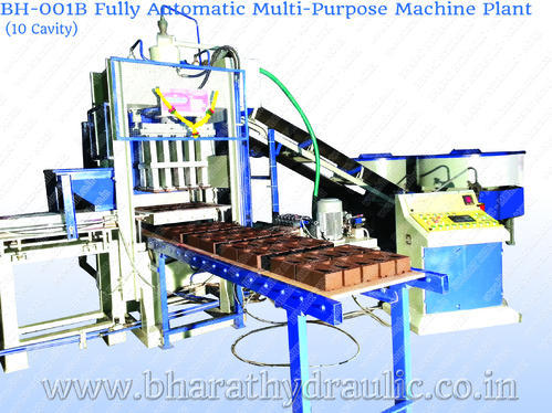 Fully Automatic Multi Purpose Plant (10 Cavity)