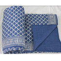 Blue Color Quilt