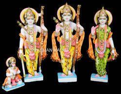 Decorative Marble Ram Darbar Statue