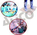 Blood And Surgical Fluid Absorbent Floor Pads