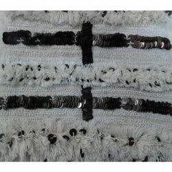 Hand Embellished Fabric