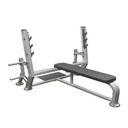 Fitness Olympic Flat With Support Bench