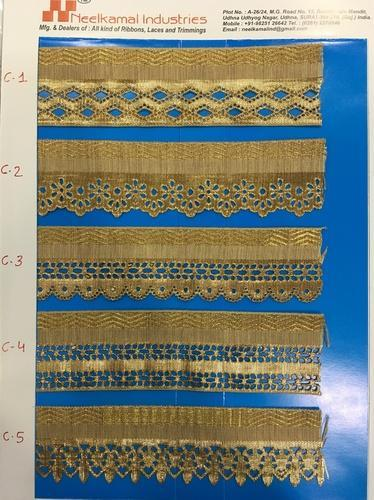 Cut Work Laces For Saree