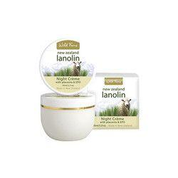 Wild Ferns Lanolin Night Cream